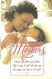 Pkg./100 Mother's Day Bulletin. Save 50%.
