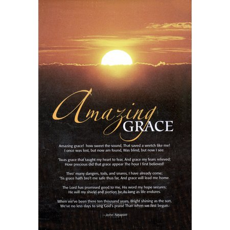 "Amazing Grace Bulletins. Large (8 1/2""x14"") (pkg.100).  Save 50%."