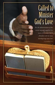 Called To Minister God's Love Bulletins. Pkg./100. Save 50%.