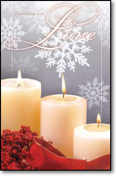 Winter Love Bulletins. Pkg./100. Save 50%.