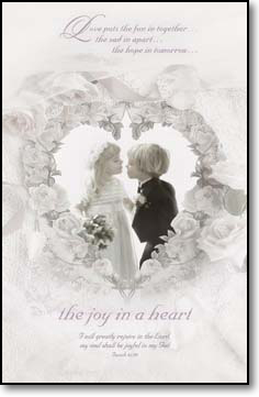 The Joy In A Heart Bulletins. Pkg./100. Save 50%.